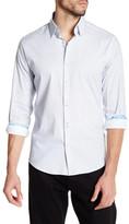 Stone Rose Micro Geo Print Dress Shirt