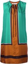 Diane von Furstenberg colour-block dress - women - Silk - 4