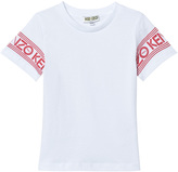 Kenzo White and Orange Branded Tee (from Menswear)