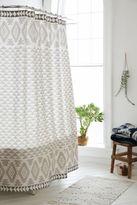 Urban Outfitters 4040 Locust Pyramid Geo Shower Curtain
