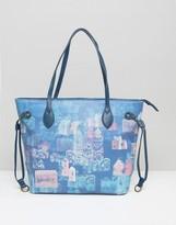 Lavand Printed Shopper Bag