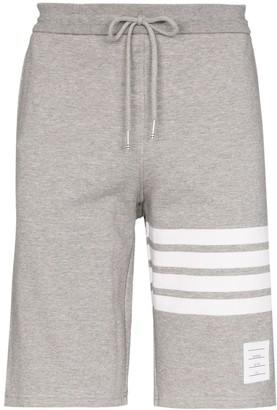 Thom Browne striped track shorts