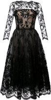 Oscar de la Renta A-line lace dress