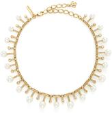 Oscar de la Renta Multi Pearl and Gold Necklace