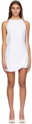 Jacquemus White La Robe Figuerolles Dress