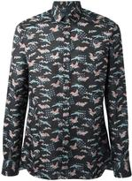 Lanvin Evolutive Cranes print shirt