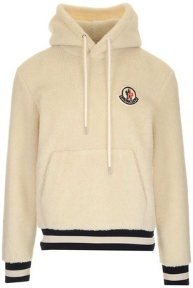 Moncler Teddy Logo Hoodie