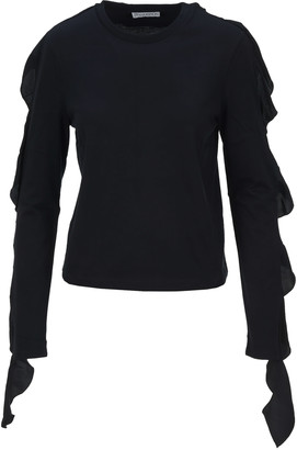 J.W.Anderson Ruffle-trimmed T-shirt