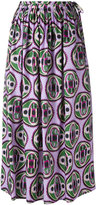 Aspesi flared printed skirt - women - Cotton - 40