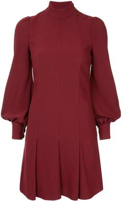 Proenza Schouler Long Sleeve Crepe Dress