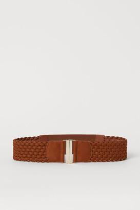 H&M Braided Waist Belt - Beige