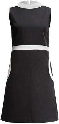 Rumour London Monica High Neck A-Line Dress