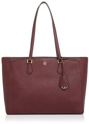 Tory Burch Robinson Medium Leather Tote