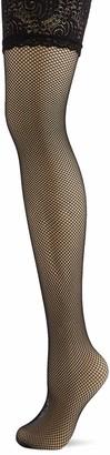 Pour Moi? Women's Tempt-Lace top 15 Denier Fishnet Hold Stockings 15 DEN