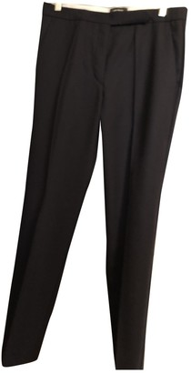 Isabel Marant Blue Wool Trousers