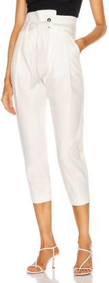 Marissa Webb Piper Pegged Leg Pant in Soft White | FWRD