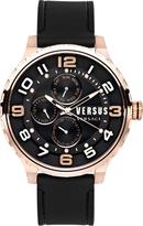 Versus By Versace Globe Collection SBA100015 Men's Stainless Steel Quartz Watch