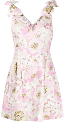 Zimmermann Super Eight bow detail dress