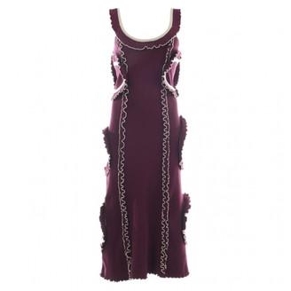 Mulberry Purple Cotton Dresses