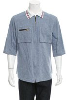 Dolce & Gabbana Chambray Polo Shirt
