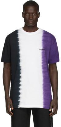 Noon Goons Purple and White Jah Dye T-Shirt