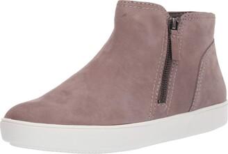 Naturalizer Womens Miranda Grey Nubuck Sneaker Booties 6.5 M