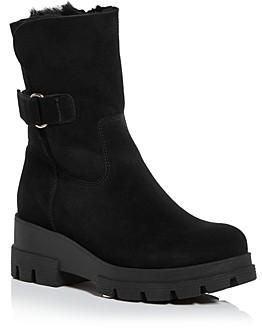 La Canadienne Women's Zendaya Waterproof Shearling Cold Weather Boots