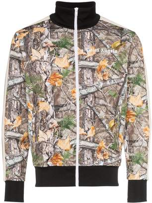 Palm Angels Woodland camouflage-print track jacket