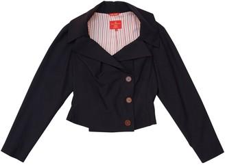 Vivienne Westwood Black Wool Jackets
