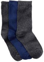 Joe Fresh Basic Crew Socks - Pack of 3 (Little Kids & Big Kids)