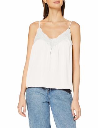 Vero Moda Women's Vmamy Lace Singlet Color Vest