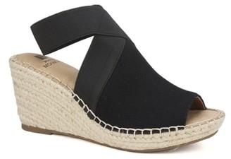 White Mountain Gabbie Espadrille Wedge Sandal