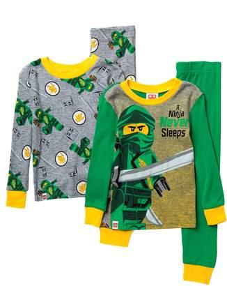 Lego Sgi Apparel Ninjago Cotton Pajama Set - Set of 2 (Little Boys & Big Boys)