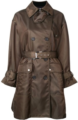 Barbara Bui Double Breasted Belted Coat