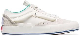 Vans White Old Skool Rework suede low-top sneakers