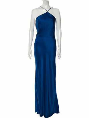 Jason Wu 2017 Long Dress Blue