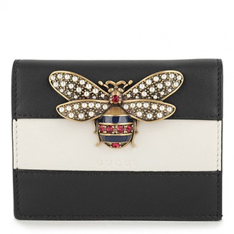 Gucci Queen Margaret Black Leather Wallets