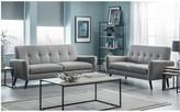 Julian Bowen Monza Fabric Compact 2 Seater Sofa
