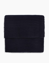Marks and Spencer Cotton Gauge Knit Throw