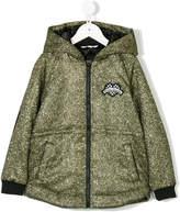 Little Marc Jacobs zipped hooded sweatshirt