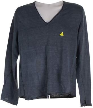 Maison Margiela Grey Cotton Knitwear & Sweatshirts