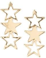 Topshop Star Drop Earrings