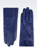Armani Jeans Napa Leather Gloves