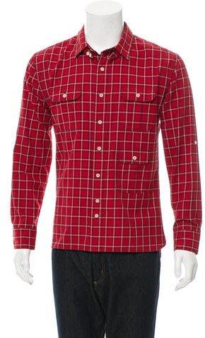 Yigal Azrouel Plaid Button-Up Shirt