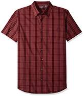 Van Heusen Men's Size Big Flex Stretch Short Sleeve Non Iron Shirt