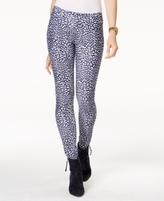 MICHAEL Michael Kors Petite Cheetah-Print Leggings