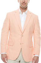 STAFFORD Stafford Linen-Cotton Sportcoat-Big and Tall