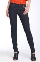 7 For All Mankind 'The Skinny' Stretch Jeans (Rinsed Indigo)