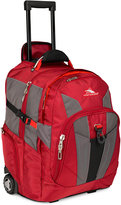 High Sierra XBT Rolling Laptop Backpack in Red