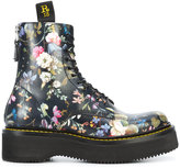 R 13 floral boots